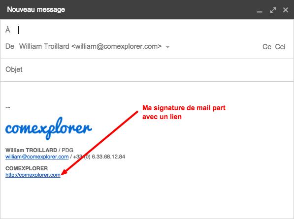 signature de mail