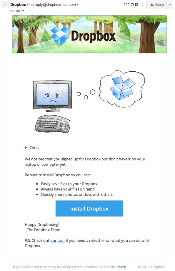 dropbox-retention-mail