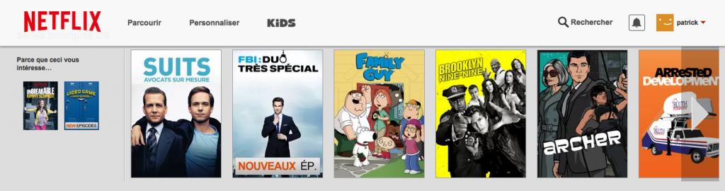 Netflix-crossselling-nurturing