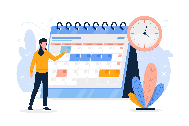Choisir date pour créer un webinaire