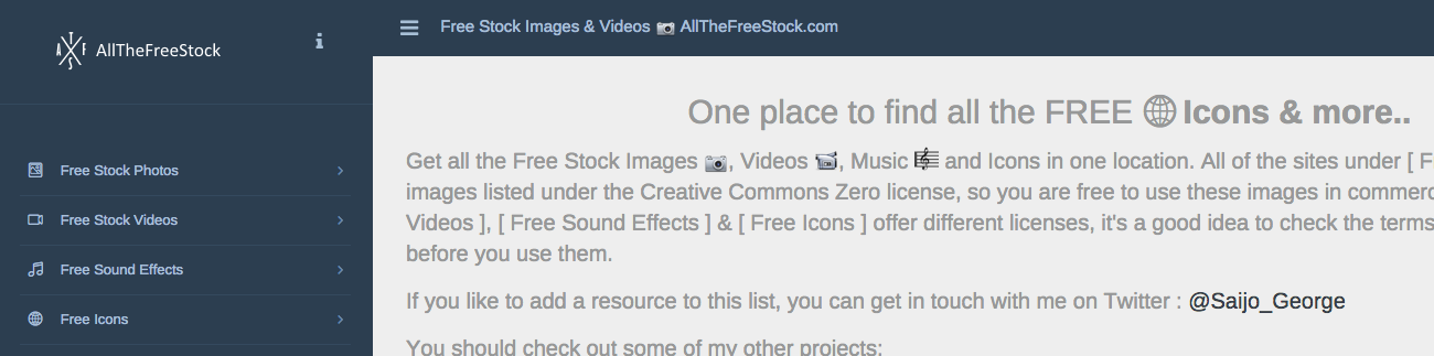 All The Free Stock