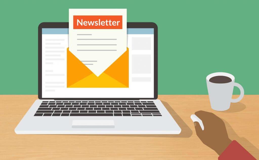 Guider l'utilisateur tout au long de la newsletter
