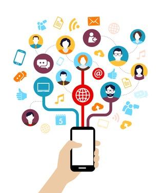partage-socialdevenir une marque media est une formidable opportunité de dynamiser sa cible grâce au partage social
